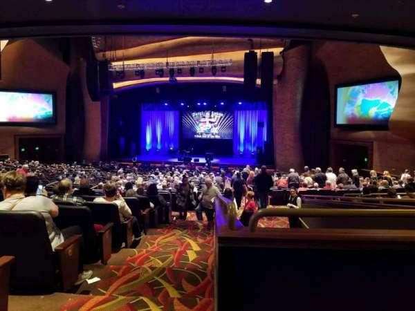 The Grand Theater at Foxwoods, secção: PRTCTR, fila: KK, lugar: 140