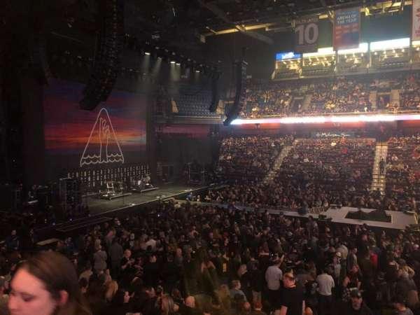 Mohegan Sun Arena, secção: 24, fila: Q, lugar: 20