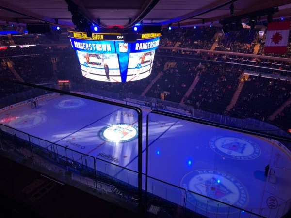 Madison Square Garden, secção: 327, fila: 2, lugar: 25