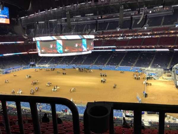 NRG Stadium, secção: 306, fila: V, lugar: 8
