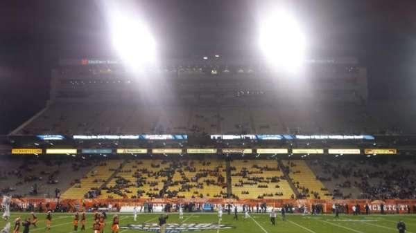 Sun Devil Stadium, secção: 30, fila: 10, lugar: 3