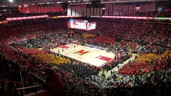 Xfinity Center (Maryland), secção: 217, fila: 11, lugar: 1