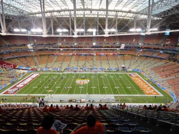 State Farm Stadium, secção: 443, fila: 20, lugar: 3