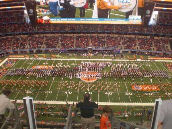 AT&T Stadium, secção: 442, fila: 14, lugar: 22