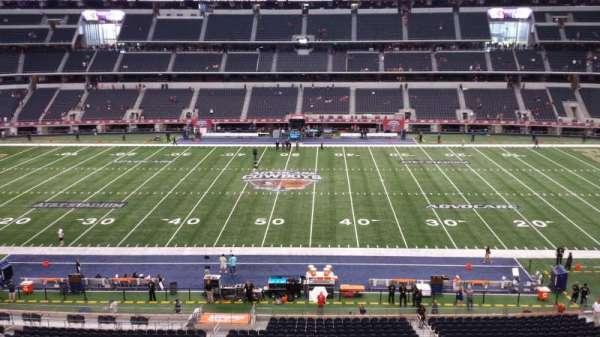AT&T Stadium, secção: C335, fila: 2, lugar: 12