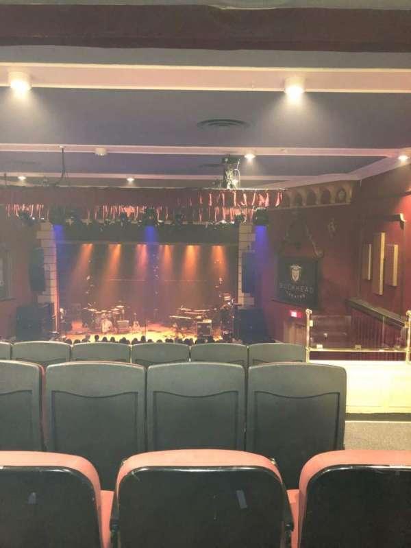 Buckhead Theater, secção: Loge, fila: E, lugar: 2