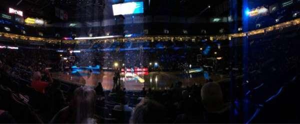 Chesapeake Energy Arena, secção: 105, fila: G, lugar: 14