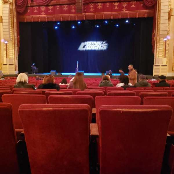Connor Palace , secção: Orchestra Center, fila: AA, lugar: 321