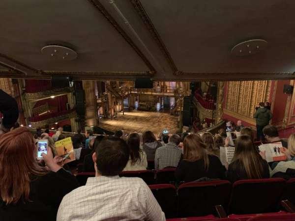 CIBC Theatre, secção: Balcony RC, fila: N, lugar: 410