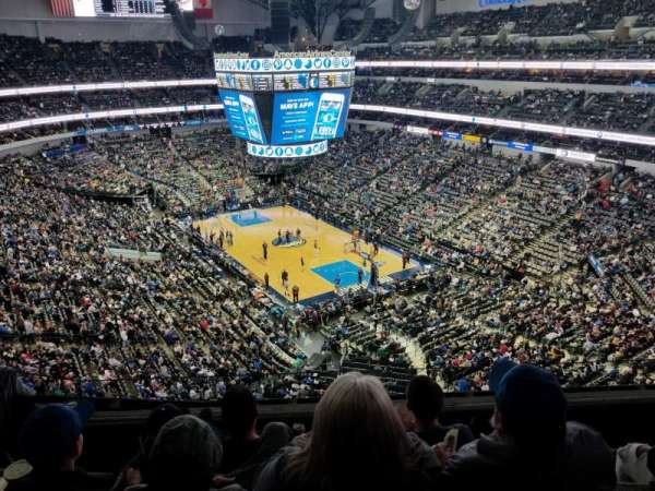 American Airlines Center , secção: 321, fila: D, lugar: 5