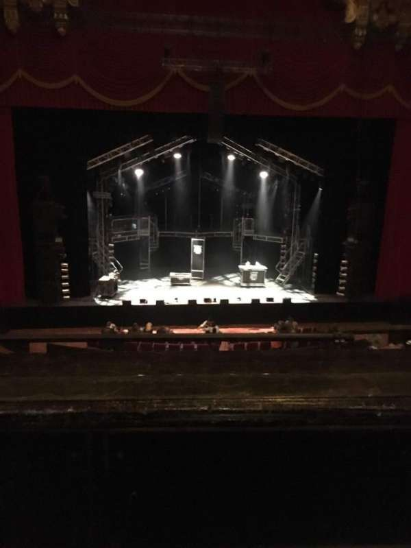 The Fabulous Fox Theatre (St. Louis), secção: Mezzanine 4, fila: BB, lugar: 113