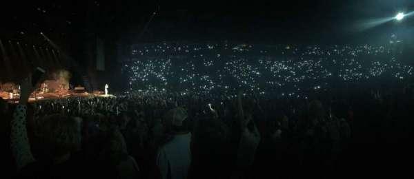 Bridgestone Arena, secção: 116, fila: FF