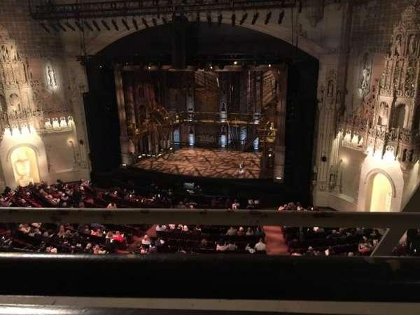 Orpheum Theatre (San Francisco), secção: Balcony, fila: A, lugar: 122
