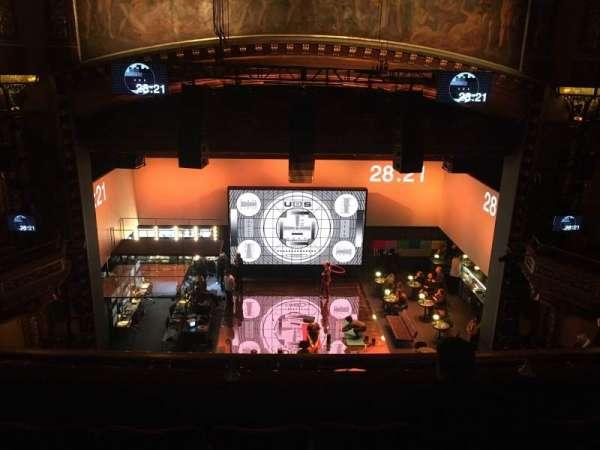 Belasco Theatre, secção: Balcony C, fila: D, lugar: 106