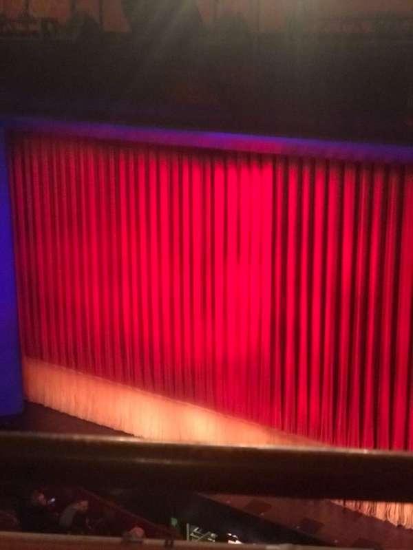 Longacre Theatre, secção: Balcony R, fila: A, lugar: 9