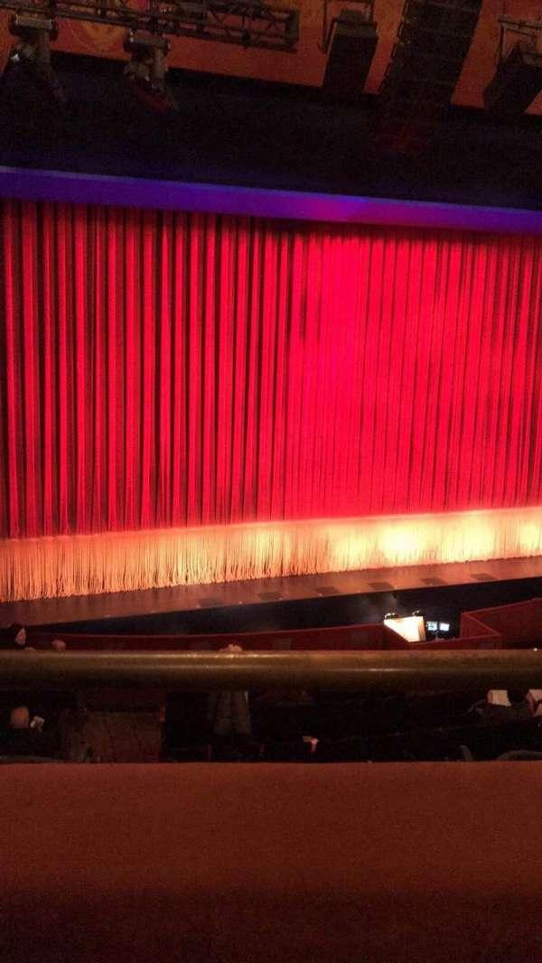 Longacre Theatre, secção: Left Mezzanine, fila: A, lugar: 2