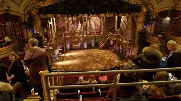 Richard Rodgers Theatre, secção: Rear Mezzanine C, fila: G, lugar: 114
