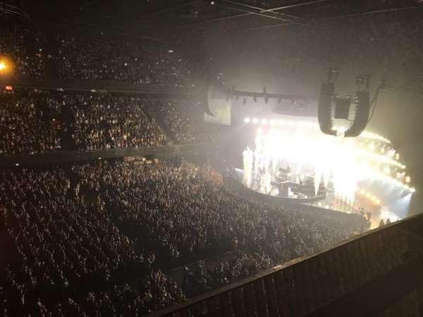 Ziggo Dome, secção: 204, fila: 1, lugar: 99