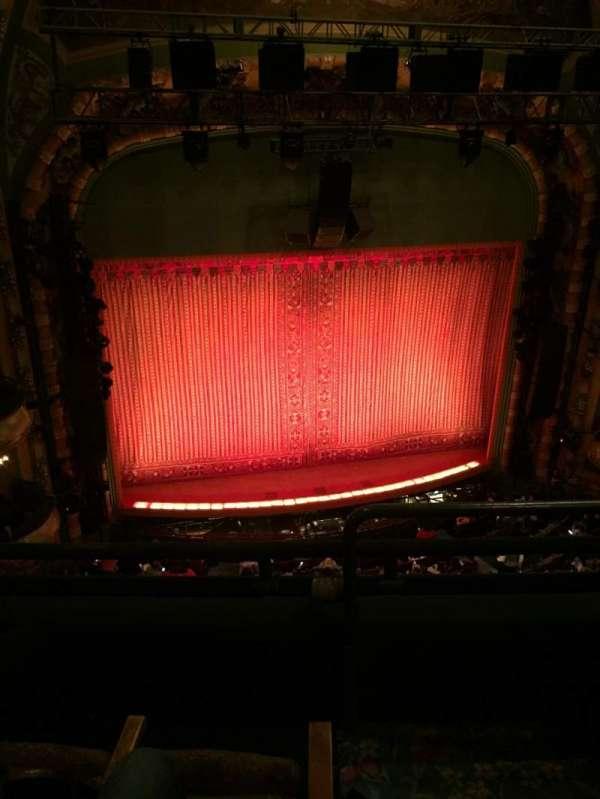 New Amsterdam Theatre, secção: Balcony L, fila: C, lugar: 3