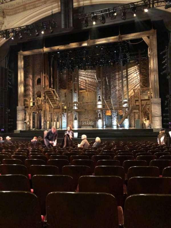 Orpheum Theatre (San Francisco), secção: Orchestra Center, fila: R, lugar: 120
