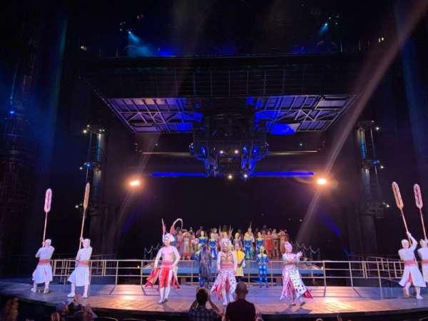 KÀ Theatre - MGM Grand, secção: 102, fila: H, lugar: 12