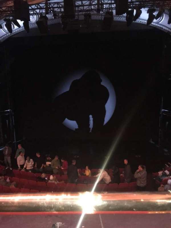 Broadway Theatre - 53rd Street, secção: Front Mezzanine RC, fila: A, lugar: 105