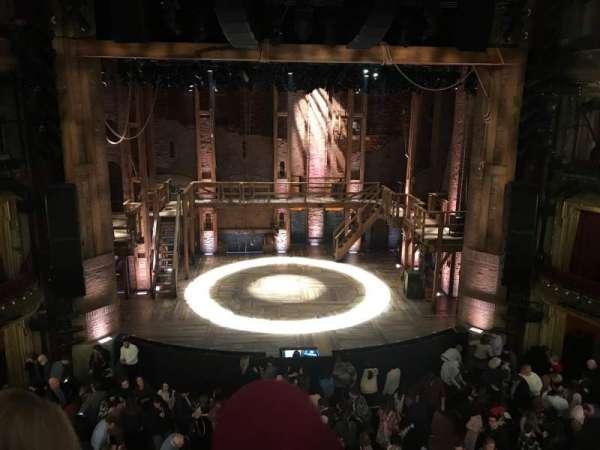 CIBC Theatre, secção: Mezzanine LC, fila: B, lugar: 303