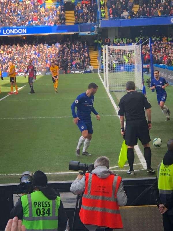 Stamford Bridge, secção: 1, fila: 10, lugar: 4