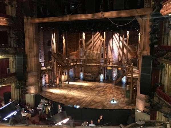 CIBC Theatre, secção: Mezzanine RC, fila: A, lugar: 322