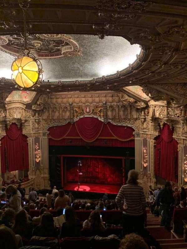 Nederlander Theatre (Chicago), secção: Balcony RC, fila: T, lugar: 336