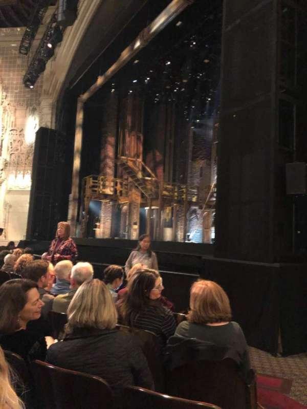Orpheum Theatre (San Francisco), secção: Orchestra, fila: G, lugar: 14 and 16