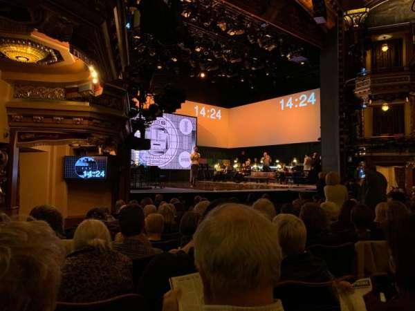 Belasco Theatre, secção: Orchestra L, fila: L, lugar: 19