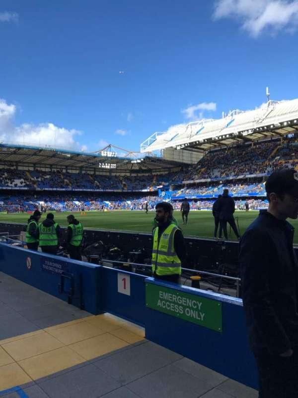 Stamford Bridge, secção: WL1, fila: 1, lugar: 146