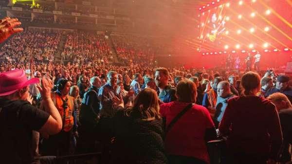 The O2 Arena, secção: 112, fila: C, lugar: 368