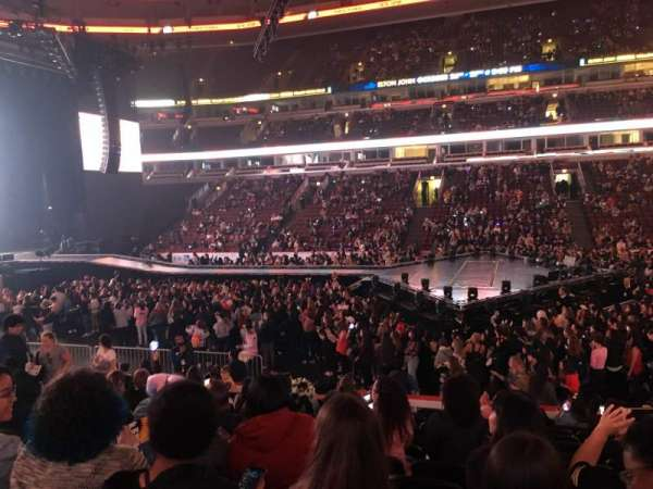 United Center, secção: 111, fila: 13, lugar: 4