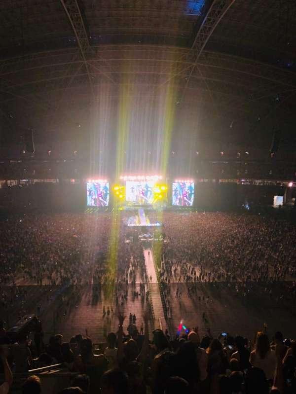 Singapore National Stadium, secção: 613, fila: Q, lugar: 33