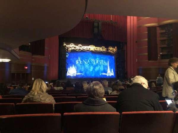 Kansas City Music Hall, secção: Left orchestra, fila: BB, lugar: 5