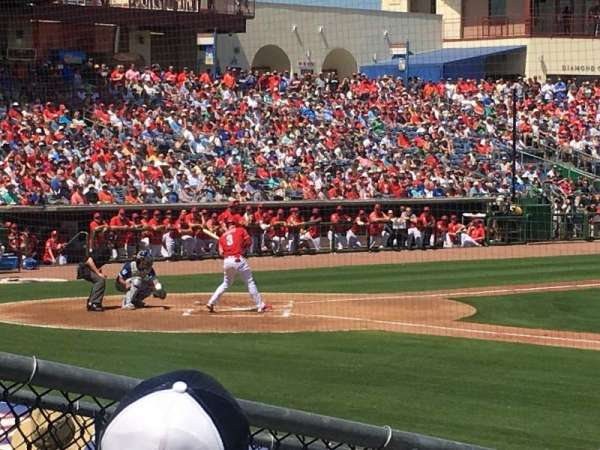 BayCare Ballpark, secção: 105, fila: 11, lugar: 10