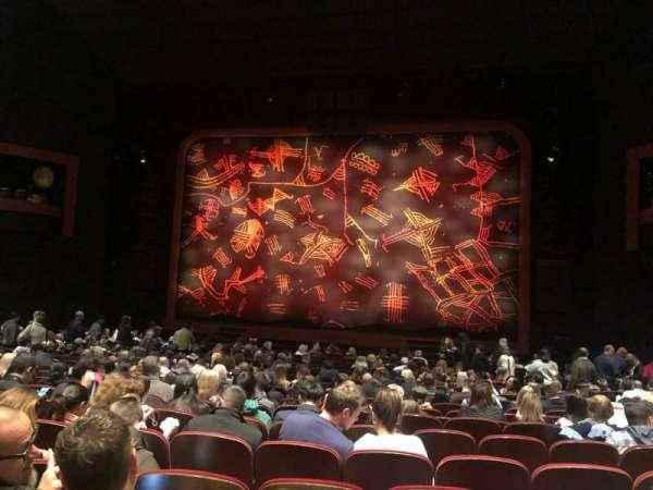 Minskoff Theatre, secção: Orchestra C, fila: U, lugar: 125