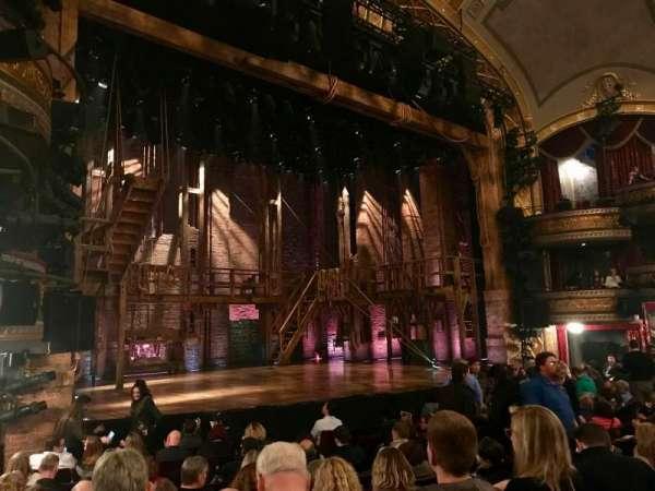 Richard Rodgers Theatre, secção: ORCH LEFT, fila: L, lugar: 21