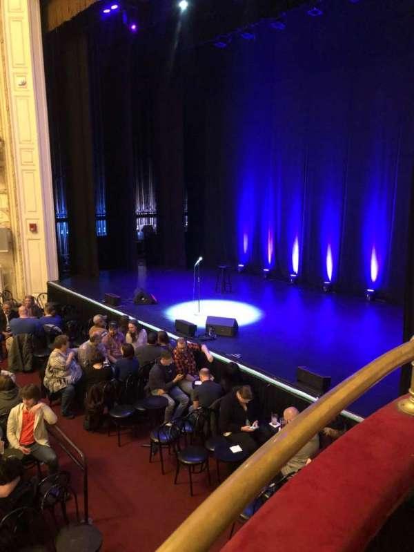 Wilbur Theatre, secção: B, fila: 2, lugar: 1