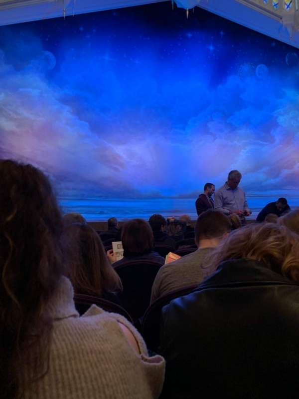 Eugene O'Neill Theatre, secção: Orch Center, fila: H
