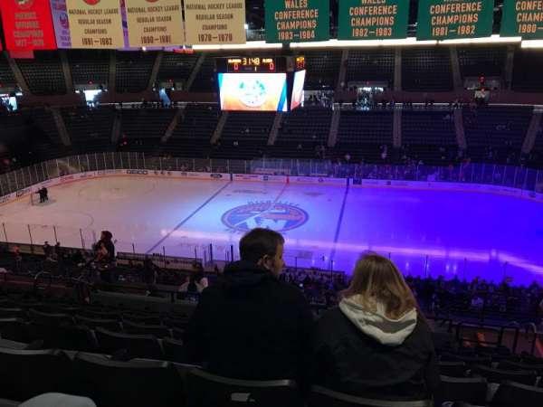 Nassau Veterans Memorial Coliseum, secção: 222, fila: 11, lugar: 7