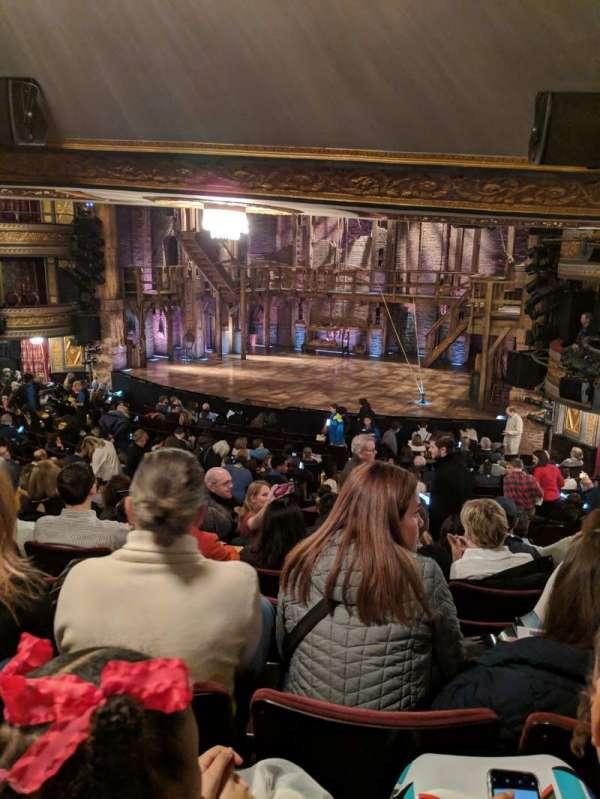 Richard Rodgers Theatre, secção: Orchestra R, fila: T, lugar: 18
