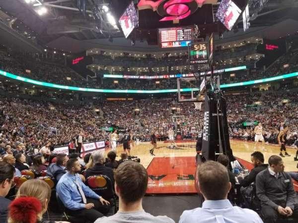 Scotiabank Arena, secção: 114, fila: D, lugar: 1,2