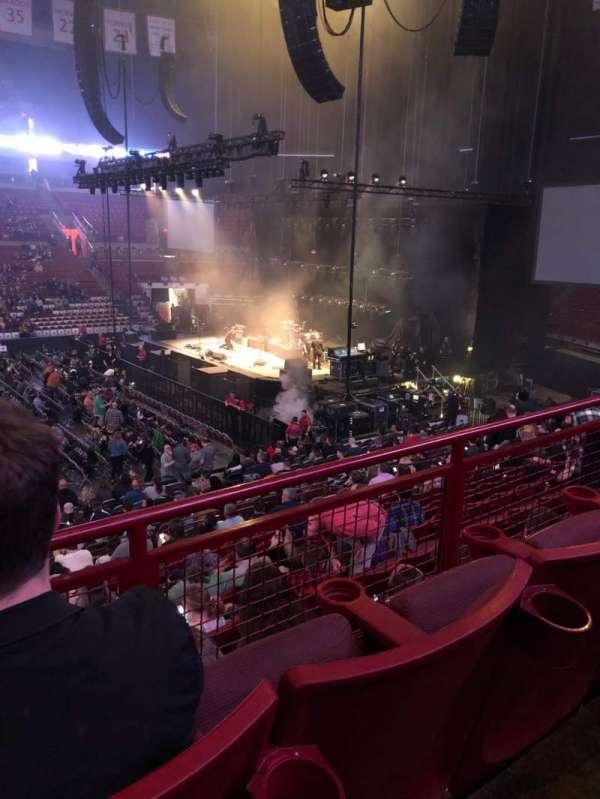 Value City Arena, secção: 223, fila: B, lugar: 13