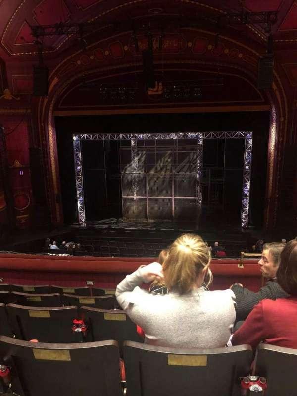 Mayflower Theatre, secção: Dress Circle, fila: F, lugar: 15
