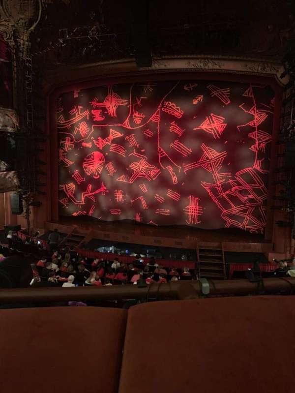 Lyceum Theatre (West End), secção: Royal circle, fila: A, lugar: 17