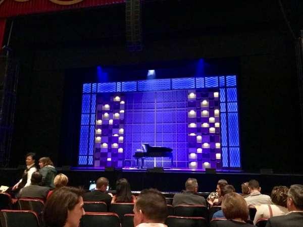 The Fabulous Fox Theatre (St. Louis), secção: Orch04, fila: G, lugar: 110