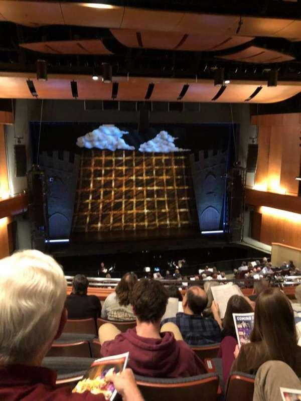 Harris Center, secção: Balcony Center, fila: GG, lugar: 116